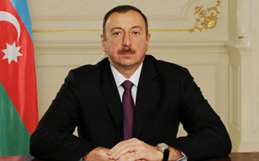 Azərbaycan Prezidenti Yaponiyanın İmperatoruna təbrik məktubu göndərib