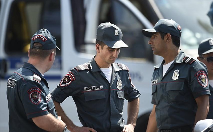 Ermənistanda koronavirusa yoluxan polislərin sayı artdı