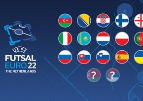 Futzal üzrə Avropa çempionatının 15 iştirakçısı müəyyənləşdi