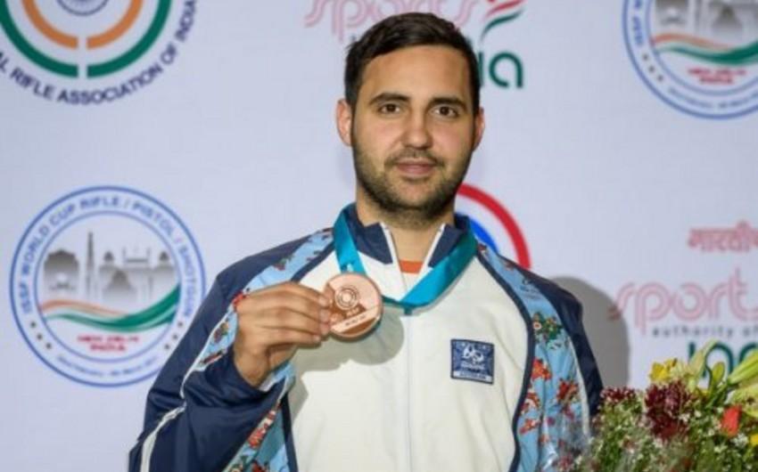 İslamiada: Azərbaycanın güllə atıcısı 3-cü dəfə qızıl medal qazanıb