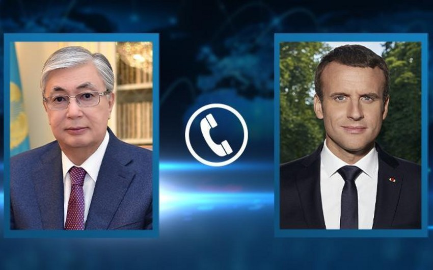 French, Kazakh Presidents mull situation in Afghanistan