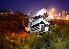 Тяжелое ДТП в Турции, пострадали 10 человек