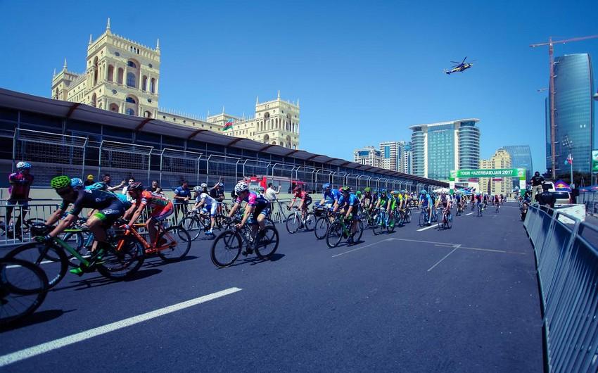 Tour d'Azerbaidjan 2017 beynəlxalq velosiped turunun iştirakçıları diabeti olan uşaqlarla görüşüblər