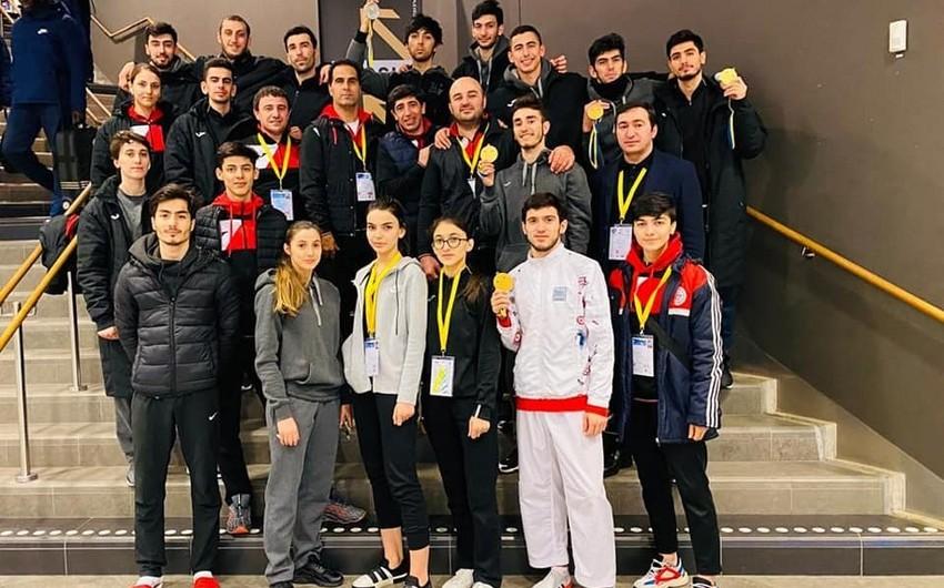 Azərbaycan taekvondoçuları 9 medal qazandılar - FOTO