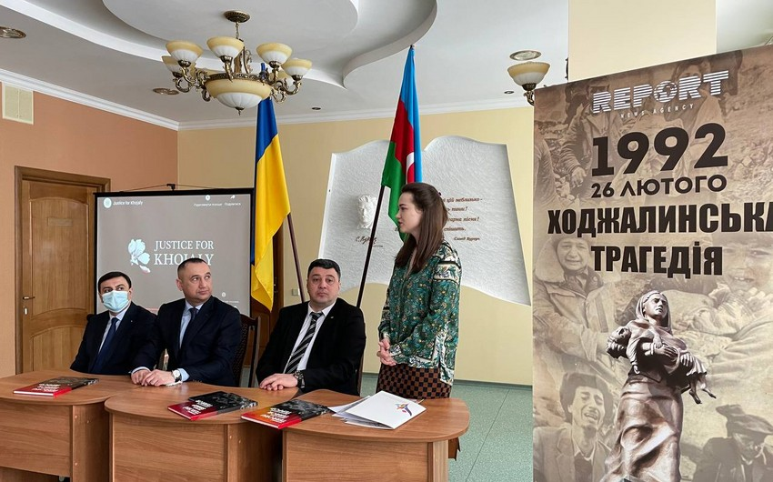 Baku Multiculturalism Center holds event on Khojaly tragedy in Kyiv
