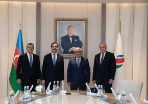 SOCAR-ın prezidenti Türkiyə səfiri ilə görüşüb