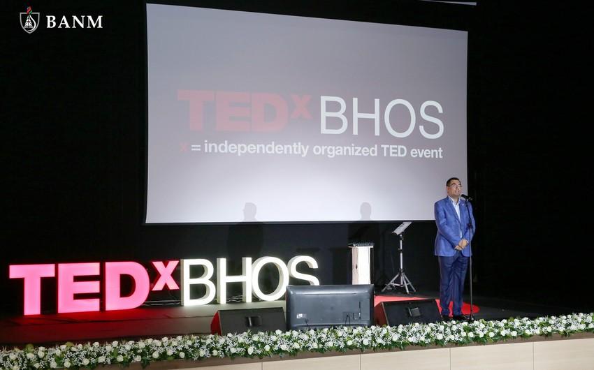 Baku Higher Oil School hosts next TEDxBHOS conference