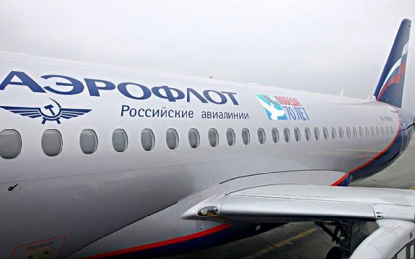 """""""Aeroflot"""" Moskva-Bakı aviareysini təxirə salıb"""