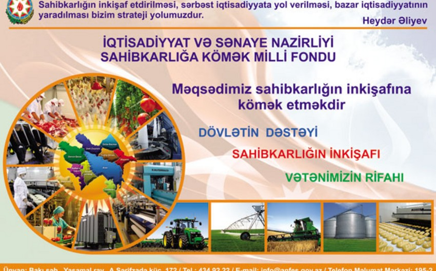 SKMF Neftçalada sahibkarlardan investisiya layihələrinin qəbuluna başlayıb