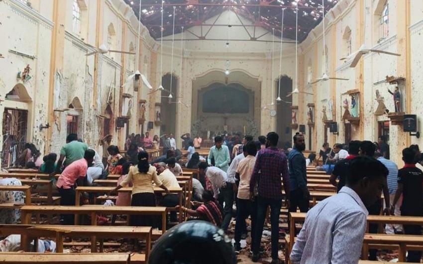 Şri-Lankada partlayışlar nəticəsində ölənlərin sayı 215 nəfərə çatıb - VİDEO - YENİLƏNİB-4