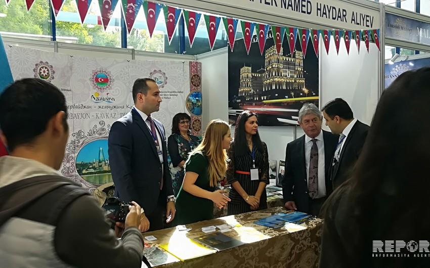 Azərbaycan Daşkənddə keçirilən XXIII Beynəlxalq Turizm Sərgisində iştirak edir - FOTO