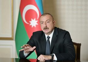 Президент: Единственным путем для них является проживание бок о бок с народом Азербайджана