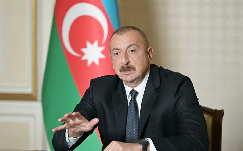 Prezident: Ermənistanı təcrid edilmiş vəziyyətə saldıq