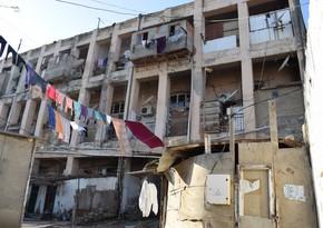 Аварийное здание не ремонтируют, несмотря на выделение средств
