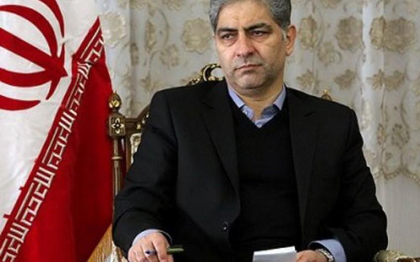 Azərbaycanın yeni baş konsulu İranın Şərqi Azərbaycan vilayətinin valisi ilə görüşüb