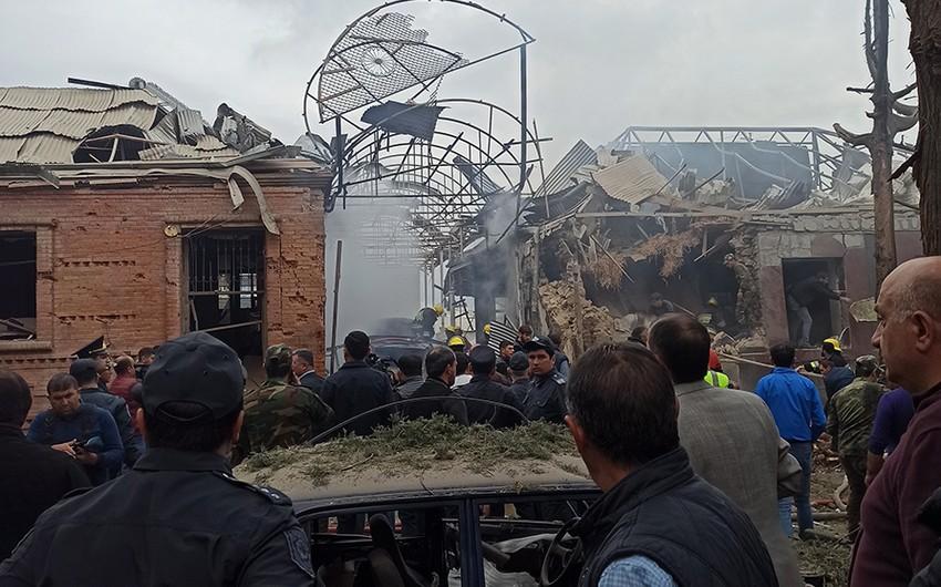 MN: Düşmənin Gəncədəki hərbi obyektlərimizi vurması barədə məlumat yalandır