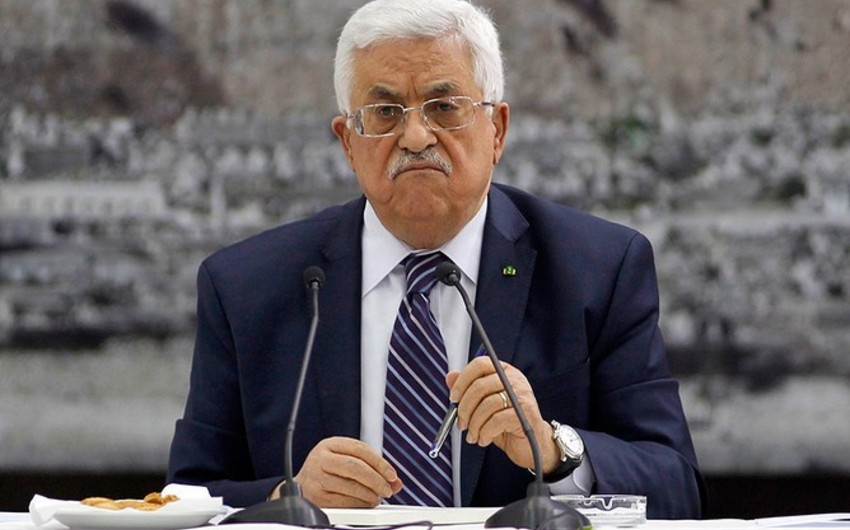Аббас назвал условия для встречи с Трампом