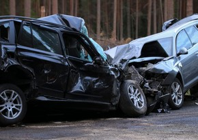 Тяжелое ДТП на дороге Евлах-Барда, два человека погибли