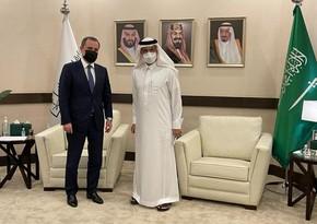 Azerbaijan invites Saudi Arabia to participate in reconstruction works in liberated territories