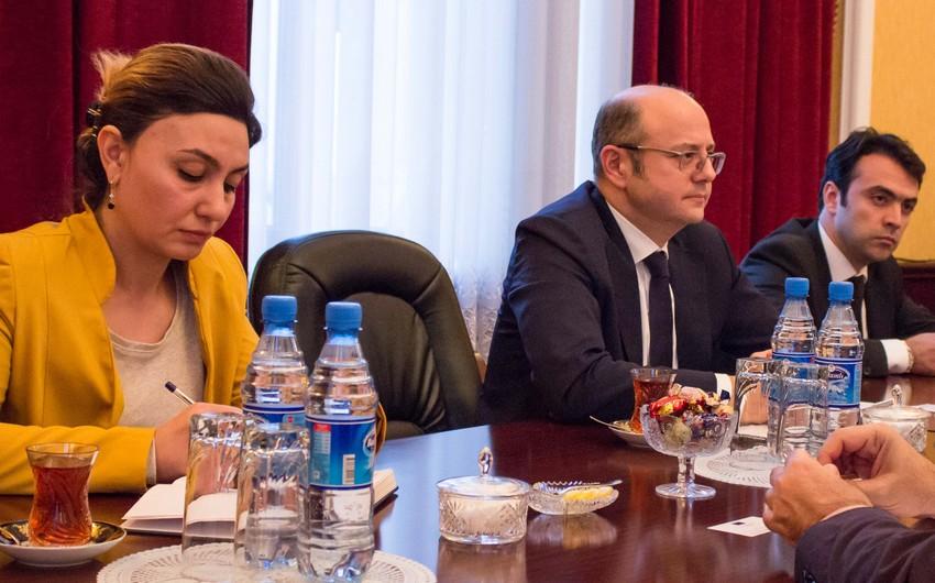 Avropa İttifaqının Azərbaycandakı səfiri Energetika Nazirliyində olub