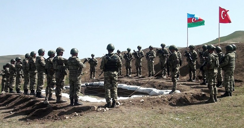 Azerbaijani and Turkish armies Joint Operational-Tactical Exercises ended