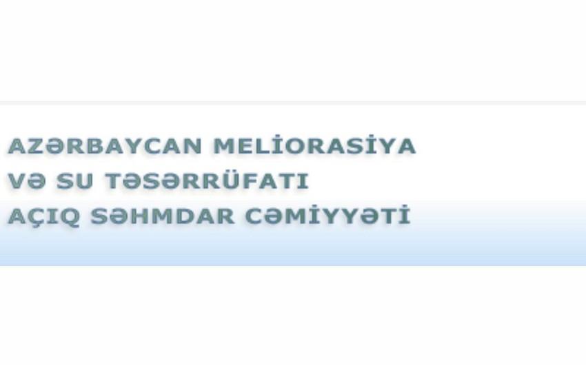 Azərbaycan Meliorasiya və Su Təsərrüfatı xəbərdarlıq sistemini yarada bilmir