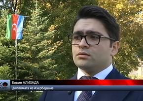 Qarabağdan olan diplomat Serbiya telekanalında erməni təcavüzündən danışıb