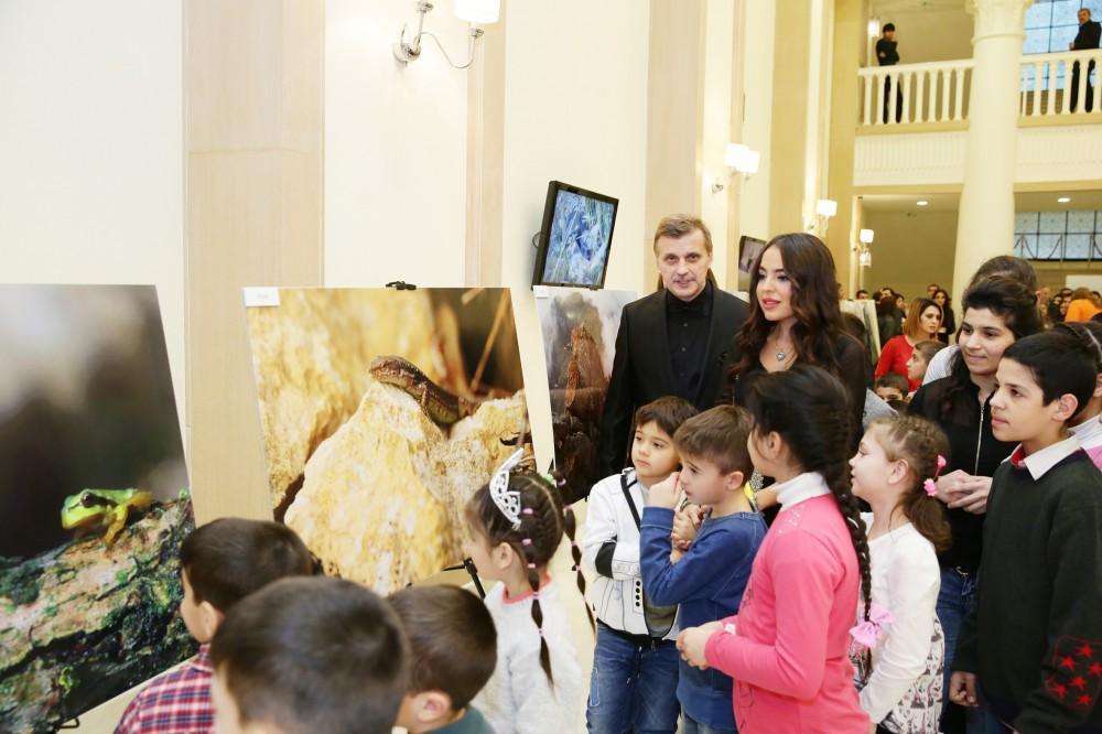 """Leyla Aliyeva attends presentation of """"Goygol National Park"""" documentary"""