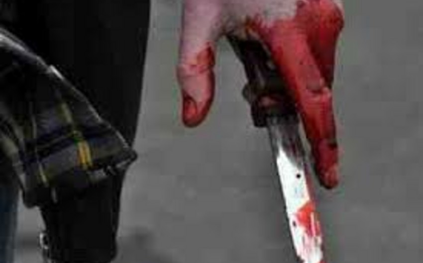 Sabunçu rayonunda bıçaqlanma hadisəsi baş verib