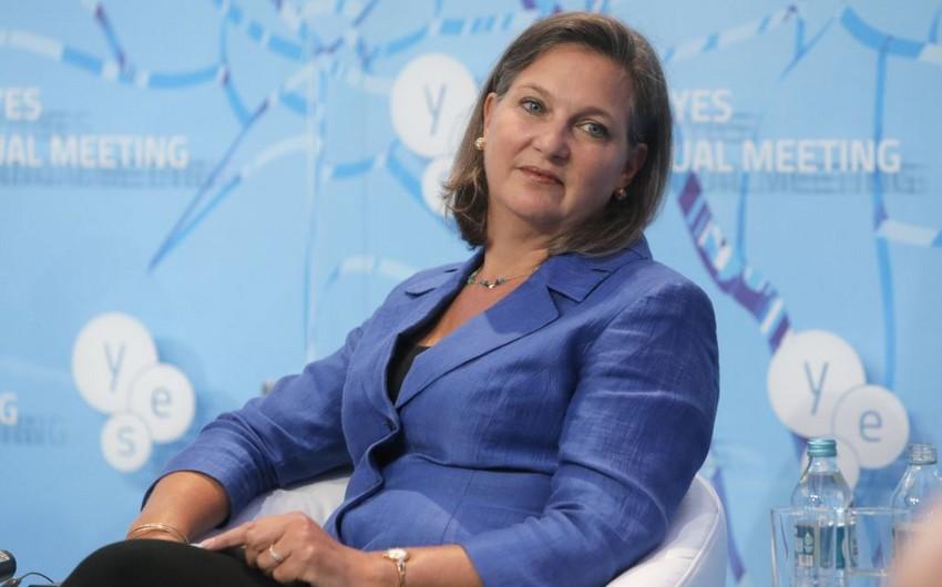 Viktoriya Nuland: Rusiyaya qarşı sanksiyalar davam edəcək