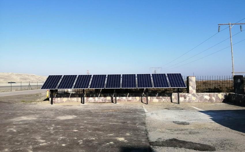 В национальных парках Азербайджана применят альтернативные источники энергии