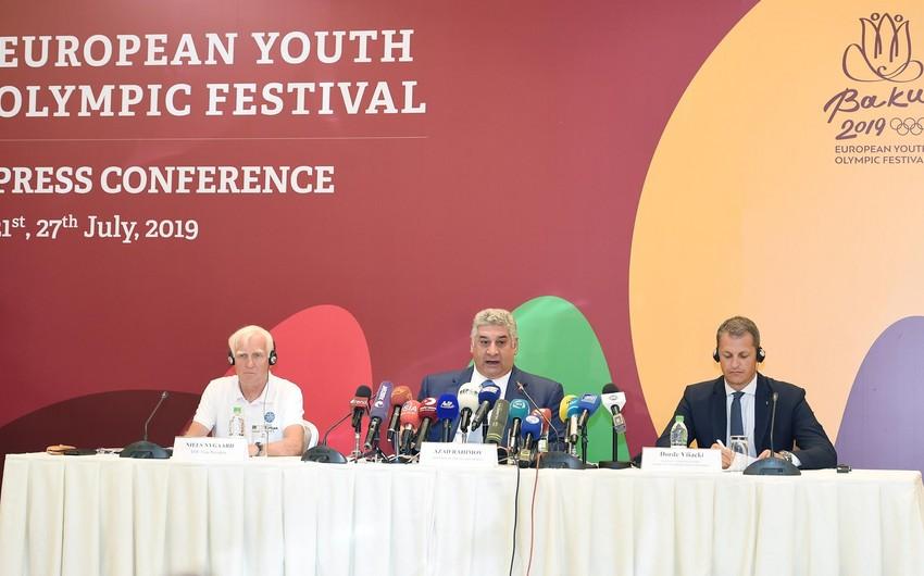 Azad Rəhimov: Azərbaycan Avropa Gənclər Yay Olimpiya Festivalını yüksək səviyyədə keçirdi