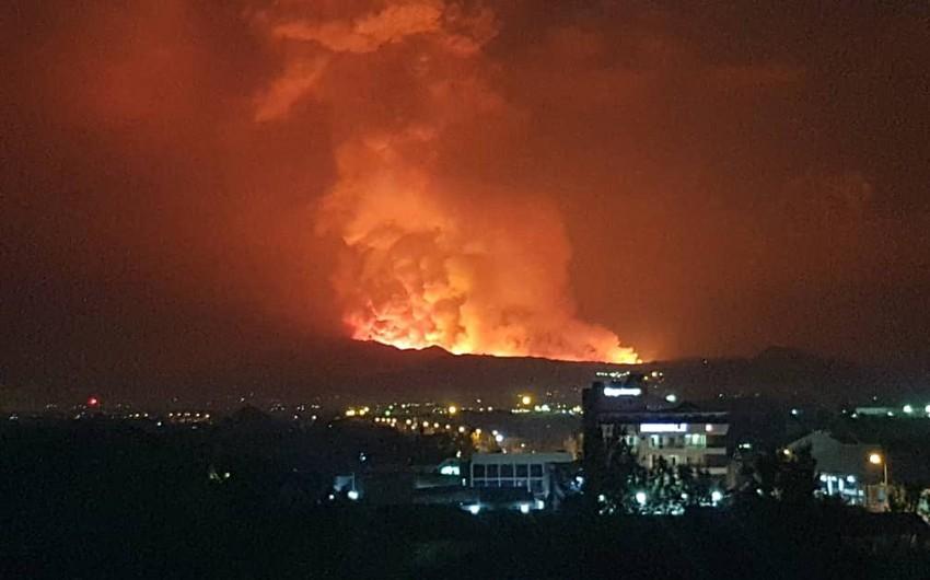 Konqoda vulkan püskürməsi nəticəsində 13 nəfər ölüb