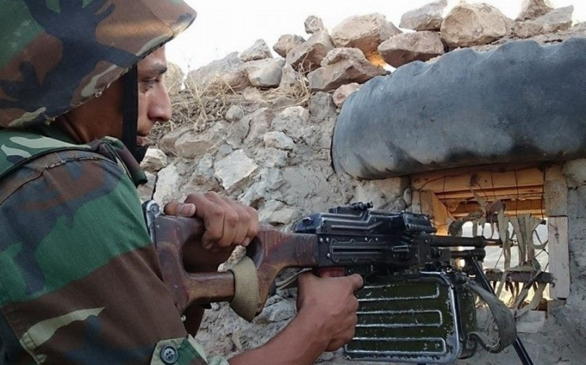 Ermənistan silahlı bölmələri sutka ərzində atəşkəs rejimini 83 dəfə pozub