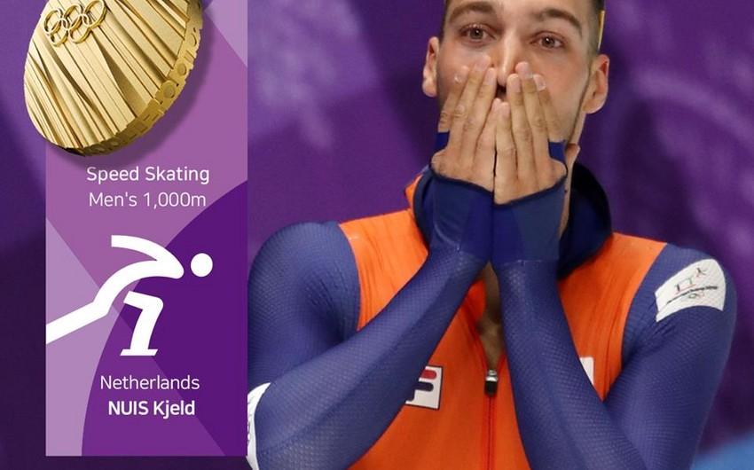 Pxençxan-2018: Hollandiya 8-ci qızıl medalını qazanıb