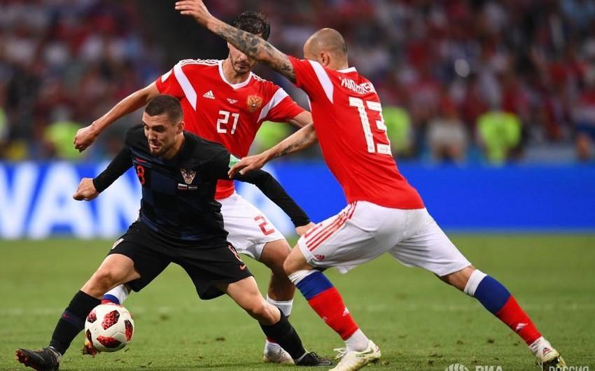 DÇ-2018: Xorvatiya Rusiya yığmasını məğlub edərək yarımfinala çıxıb - VİDEO