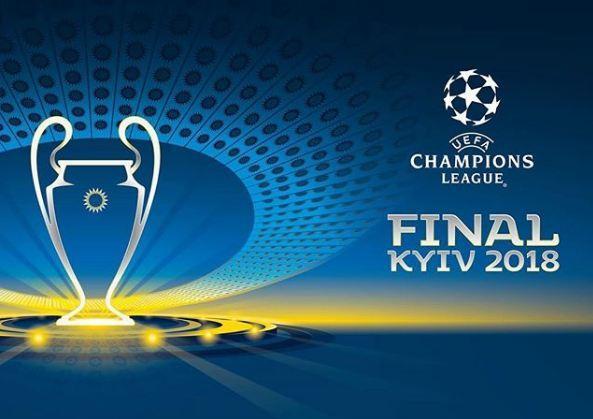 В Киеве состоялась презентация кубка и логотипа финала Лиги чемпионов сезона-2017/18 - ФОТО