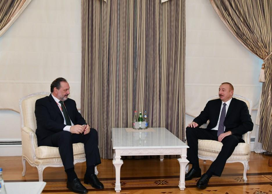 President of Azerbaijan receives president of Chamber of Representatives of Uruguay - UPDATED