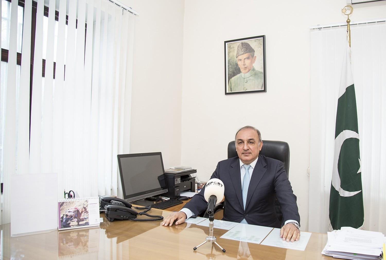 Pakistani ambassador: India's actions in Kashmir aim to change demographic background