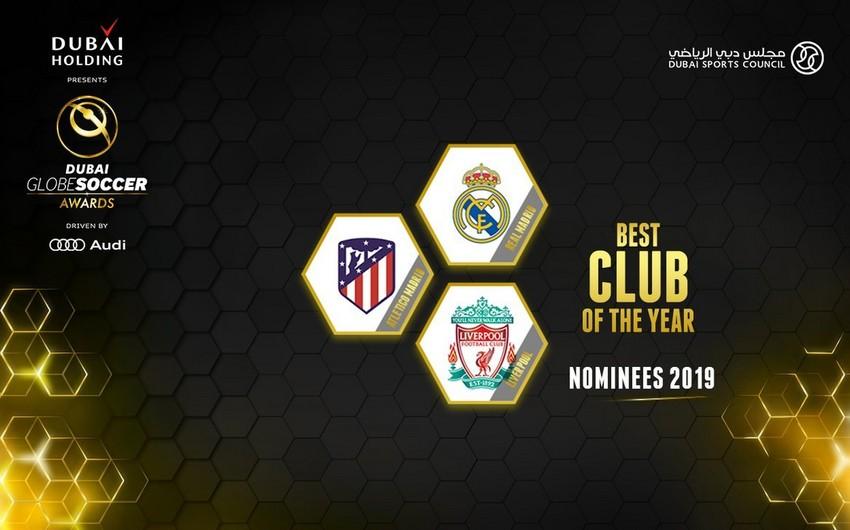 Avropa Klublar Assosiasiyası 2018-ci ilin ən yaxşıları adına namizədləri müəyyənləşdirib