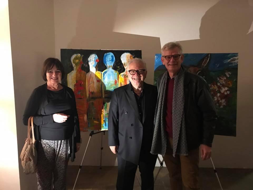 New Greek ambassador hosts exhibition of paintings in Baku - PHOTO