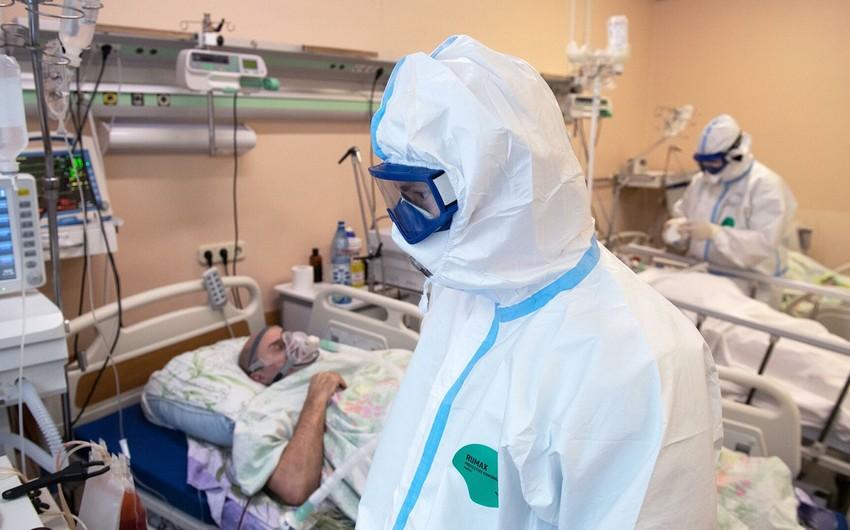 Rusiyada koronavirusa yoluxanların sayı 4871 843 nəfərə çatıb