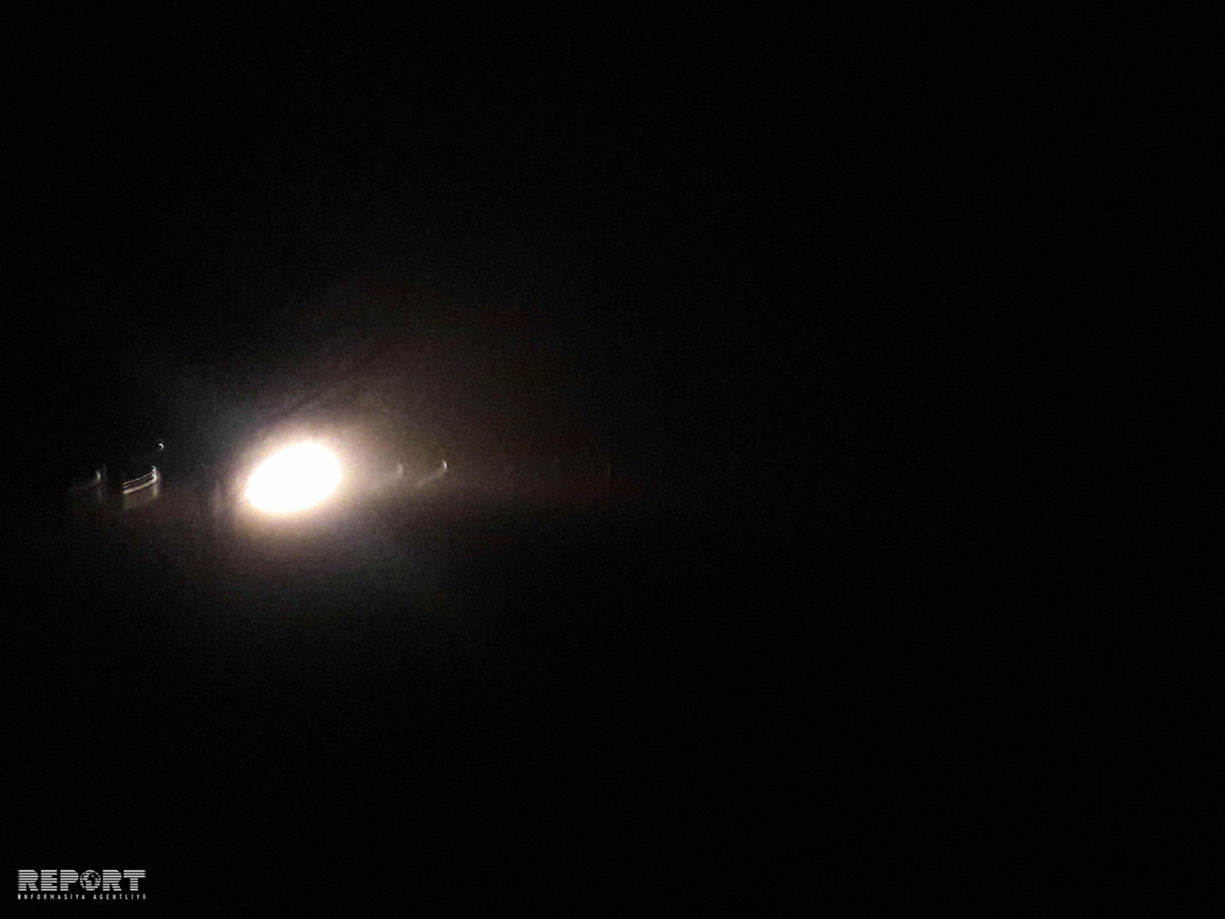 Ələt-Astara yolunda duman maşınların hərəkətində problemlər yaradıb