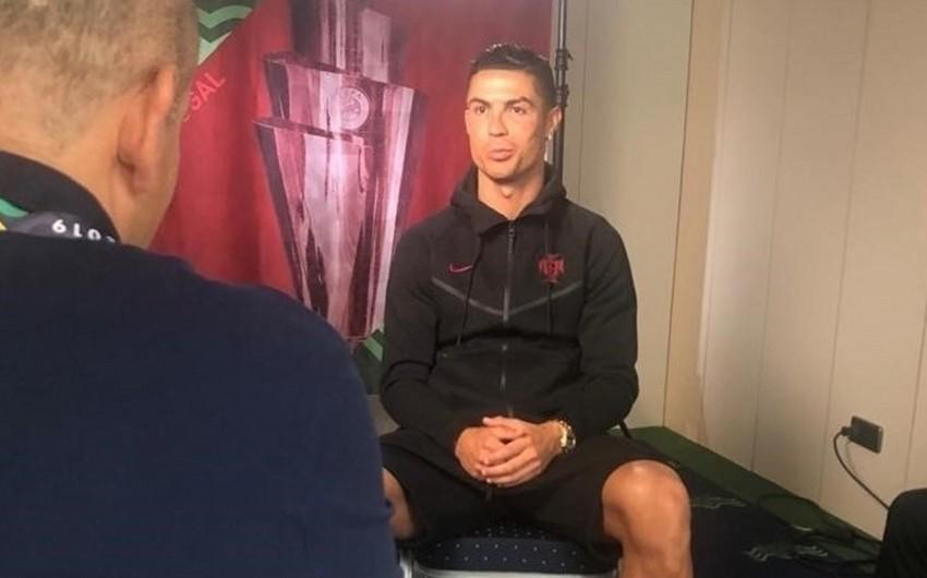 Роналду рассказал о секрете своей физической формы