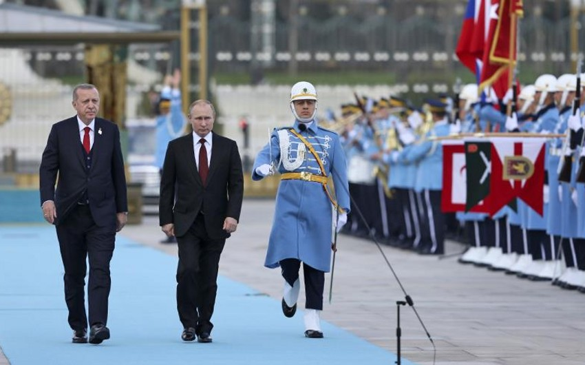 Ankarada Ərdoğanla Putin arasında görüş başa çatıb - YENİLƏNİB
