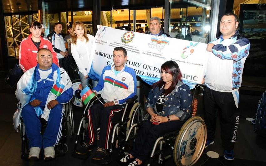 Azərbaycanın paralimpiya yığması Braziliyaya yola düşüb