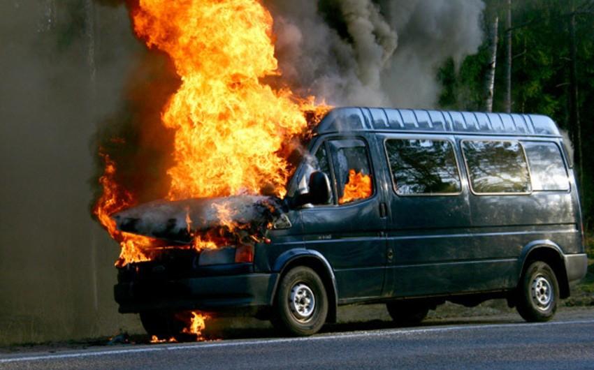 Cəlilabadda mikroavtobusun yanması nəticəsində yaralananların adları açıqlanıb - YENİLƏNİB-2 - SİYAHI - FOTO