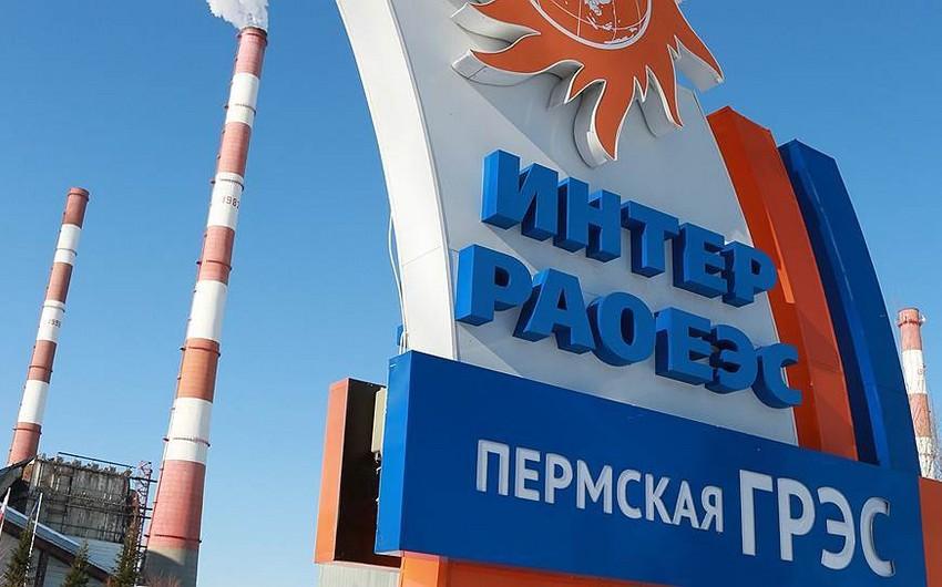 Rusiyanın İnter RAO şirkəti Azərbaycana 200 MVt elektrik enerjisi tədarük edir