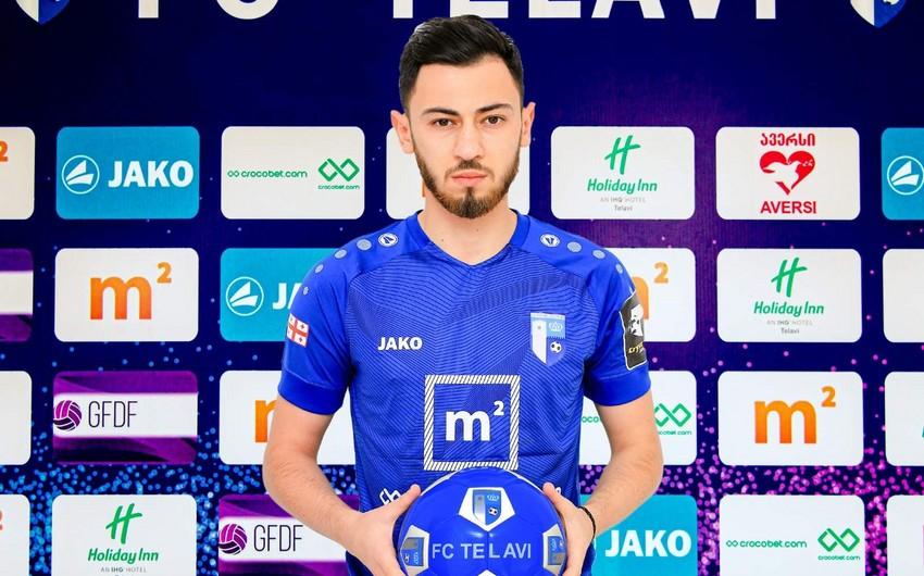 Azərbaycanlı futbolçu Gürcüstan klubundan ayrıldı