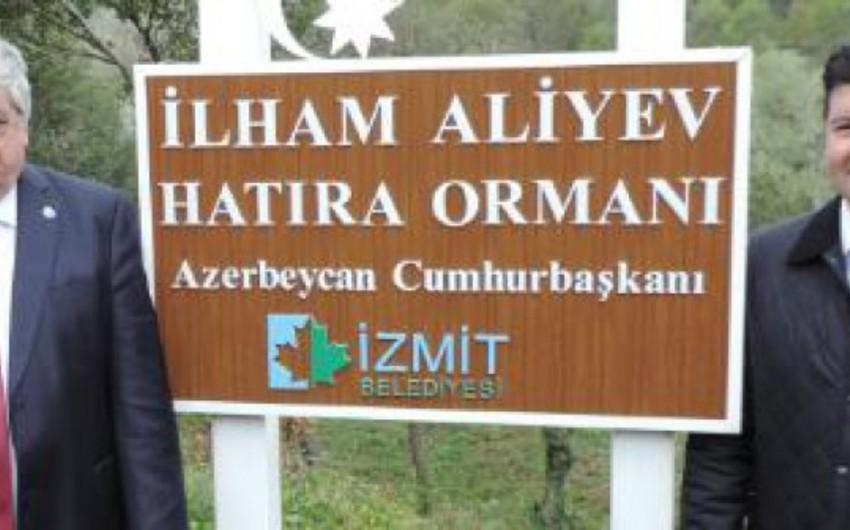 В турецком городе Измит заложен фундамент Парка Ильхама Алиева